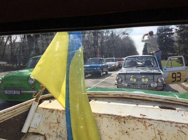 В Днепре проходит авторетропробег «Только ЗАЗ»