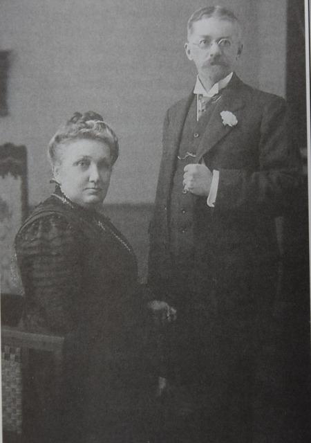 Матильда и Эрнест Сундгрены. 1910 г. (архив Х.Сундгрен)