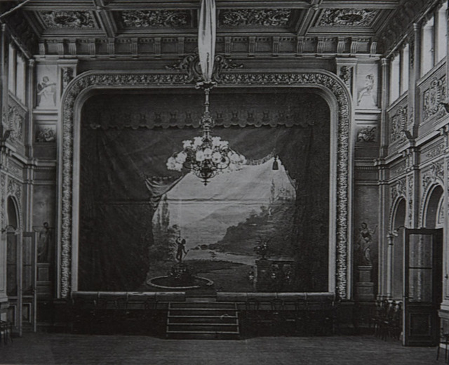 Бальный зал Инженерного клуба (архив К.Крымова)