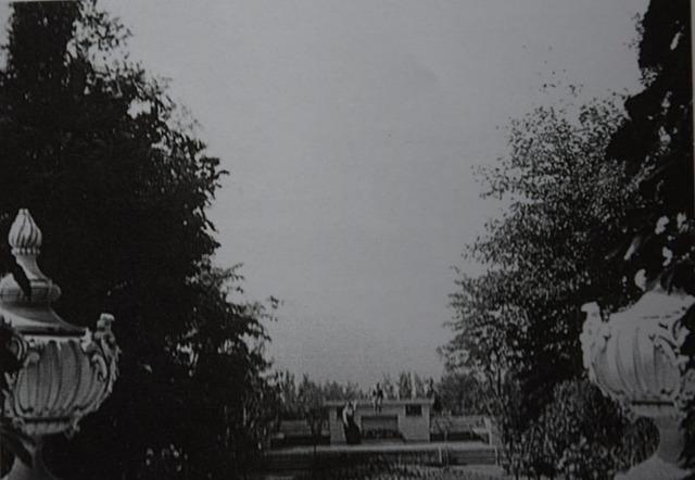 Вид с крыльца Директорского дома (архив А.Жданофф)