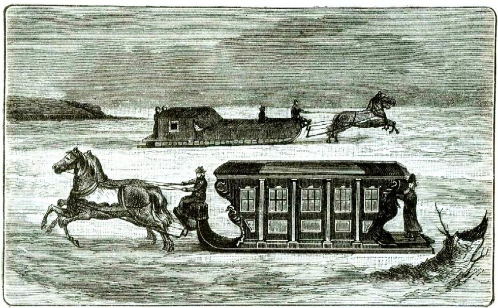 Дорожный экипаж Екатерины II во время путешествия 1787 года Развенчание мифов: тайны основания Екатеринослава