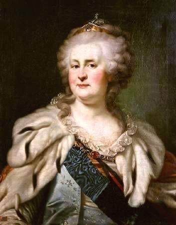 Екатерина II. Положила 1-й камень в основание Екатеринослава. Развенчание мифов: тайны основания Екатеринослава
