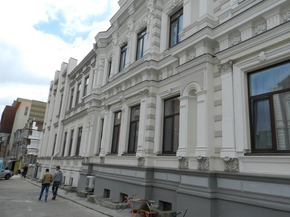 Как идет реконструкция епархиального центра в Днепре