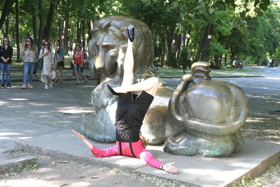 В Днепре стартовал фестиваль перформанса High Dance Dnepr Fest