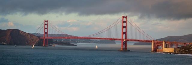Golden Gate Bridge в Сан-Франциско