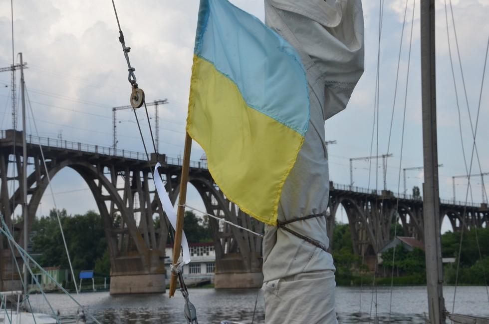 Парусная регата «Казацкий путь» вернулась в Днепр