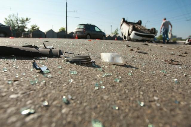 Основная причина аварий в Украине – превышение скорости. Фото: А. Бойко