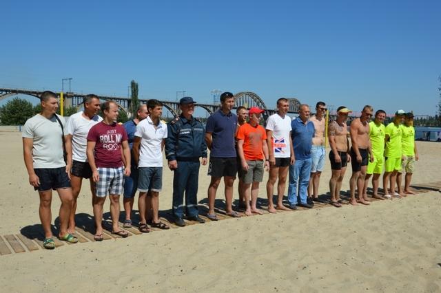 В Днепре прошли соревнования по волейболу среди спасателей