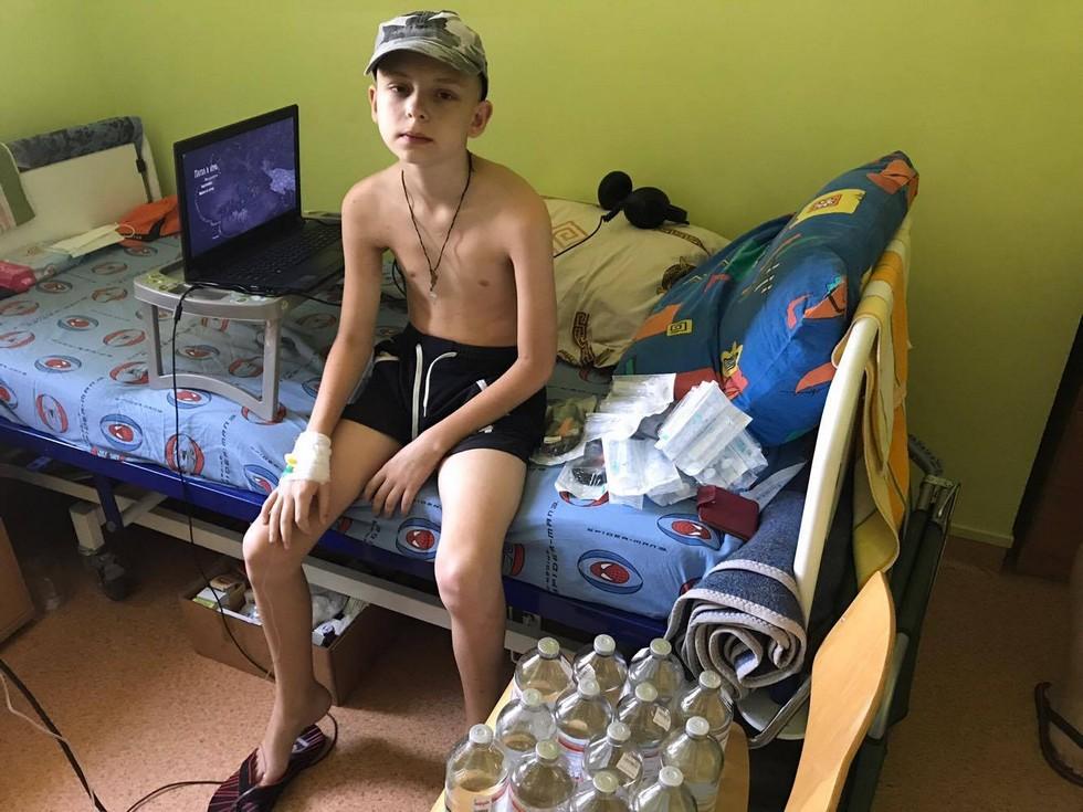 Надо успеть спасти 12-летнего Ярослава Бондаря от страшной лимфомы!