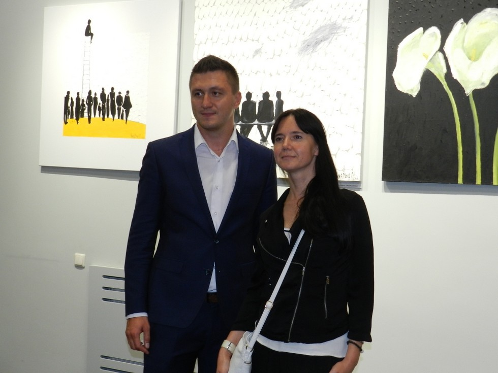 Художница Марианна Абрамова: «В Днепр спустилась через Альпы»