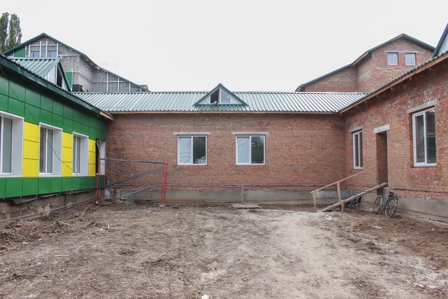 Реконструированный Глееватовский детсад будут посещать 108 малышей