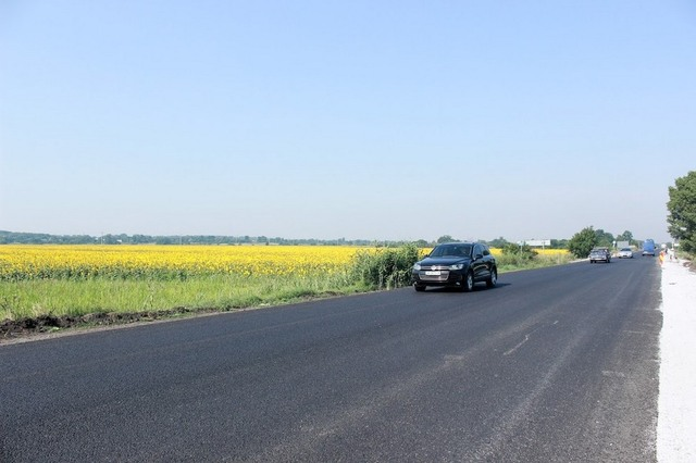 Ремонт Донецкой трассы делали по европейским стандартам