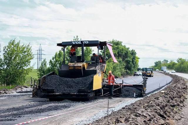 Трасса Днепр-Запорожье будет с качественным покрытием впервые за свою историю