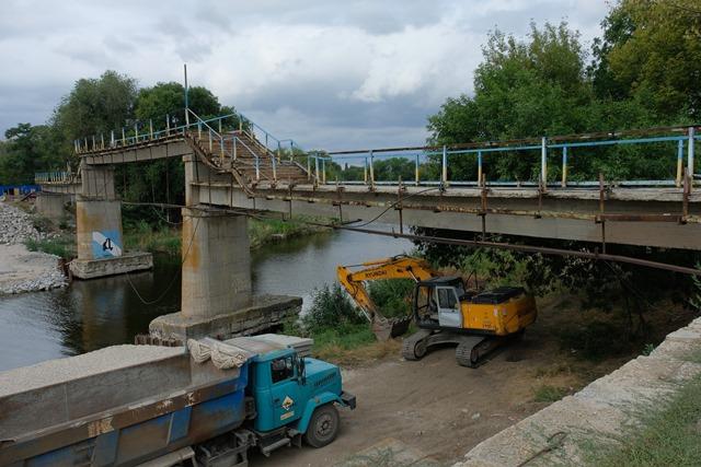 Павлоградский мост станет безопасным и комфортным