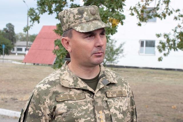Командир 93-й отдельной механизированной бригады, полковник Владислав Клочков.