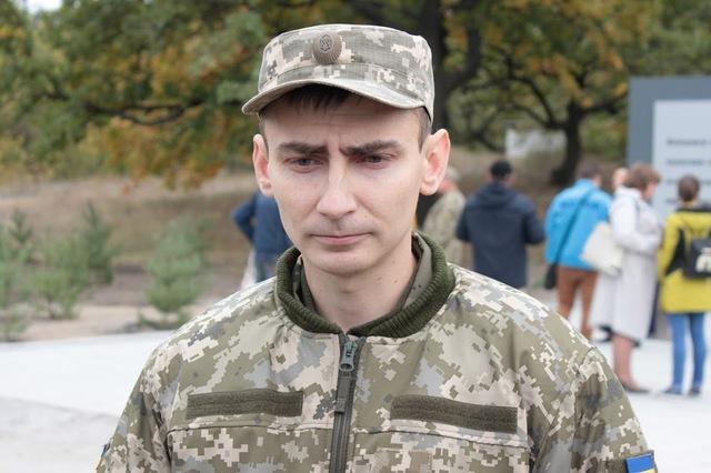Начальник медицинской службы 93-й бригады Дмитрий Сидоренко.