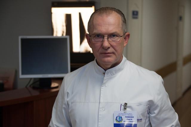 По словам Сергея Рыженко, состояние пациента стабильное, средней степени тяжести