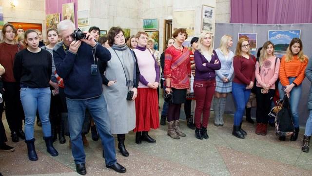 В Днепре открылась выставка «Степи Украины»
