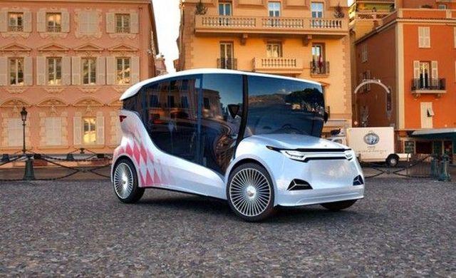 Первый украинский электромобиль Synchronous. Фото: Ecotechnica.com.ua