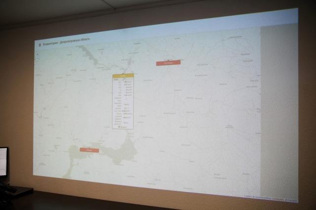 В трех городах Днепропетровщины установили стационарные посты экомониторинга