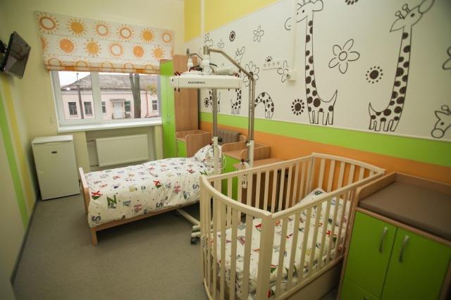 Педиатрия больницы Руднева после реконструкции похожа на современный детский садик