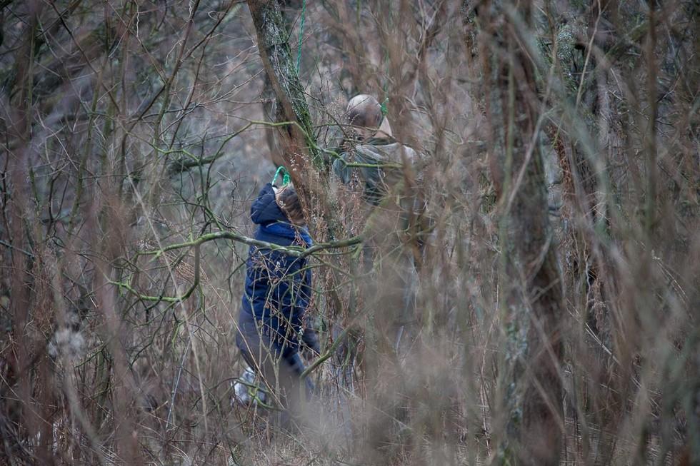 Двойное самоубийство в Тоннельной балке: мужчина и женщина повесились на ветке