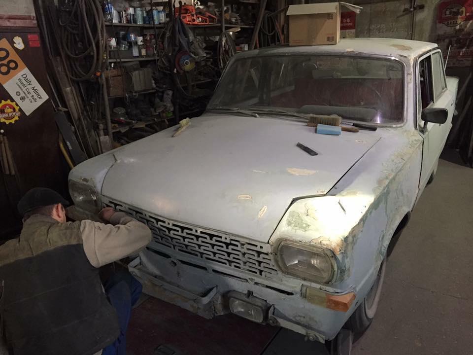 Сейчас машину реставрируют. Тайны самодельных авто: «Балтика» с берегов Днепра
