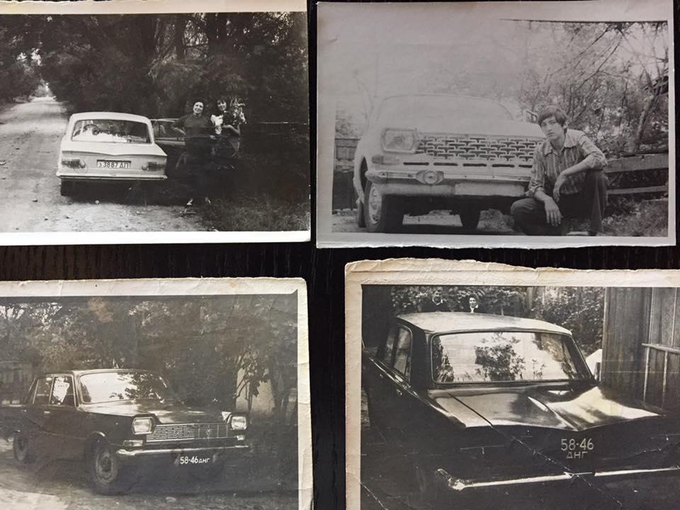 «Балтика» и загадочная машина-двойник «Фантомас» (внизу, темного цвета). Тайны самодельных авто: «Балтика» с берегов Днепра