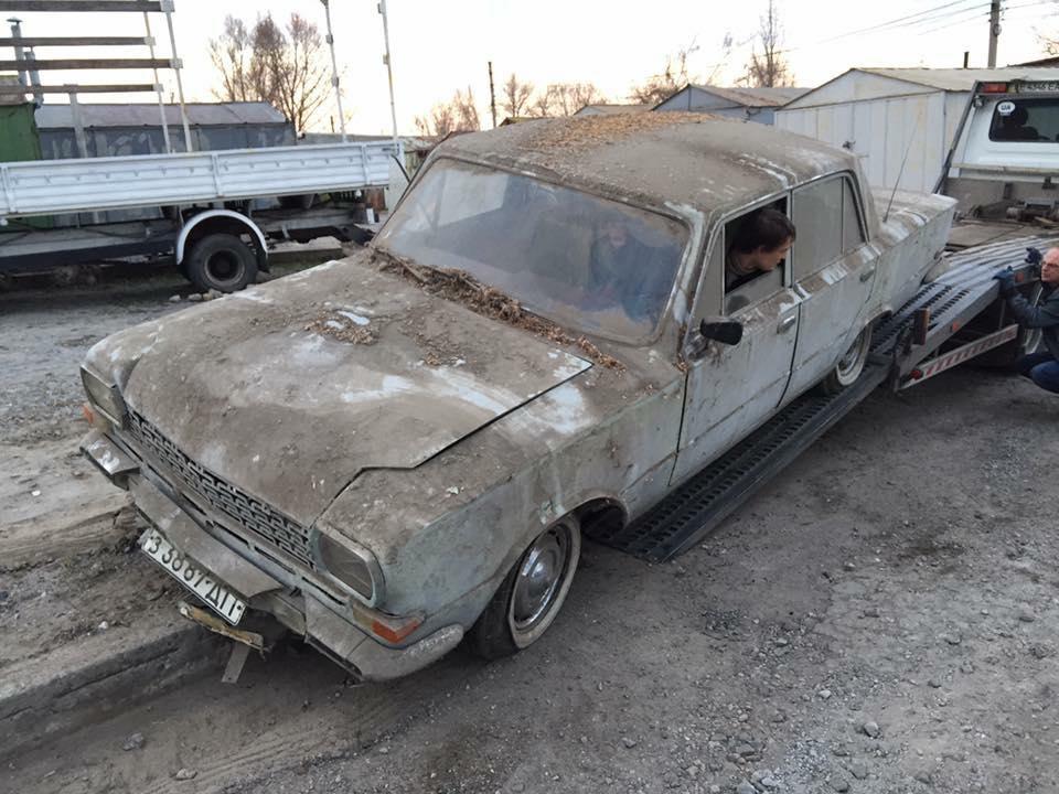 В таком состоянии «Балтика» хранилась в гараже последние 15 лет. Тайны самодельных авто: «Балтика» с берегов Днепра