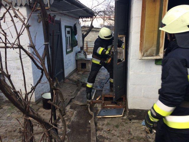 В Днепре во время пожара погибла женщина