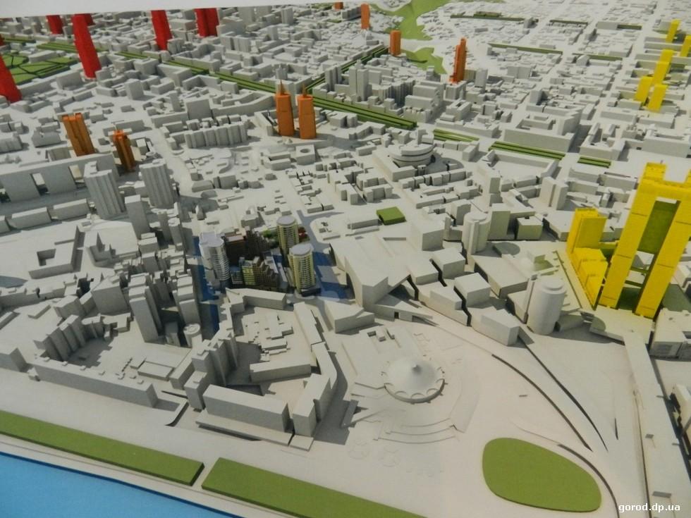 Не нашел поддержки и проект комплекса на Успенской площади Градсовет Днепра отправил на доработку «Старую Самарь» и комплекс на Успенской площади
