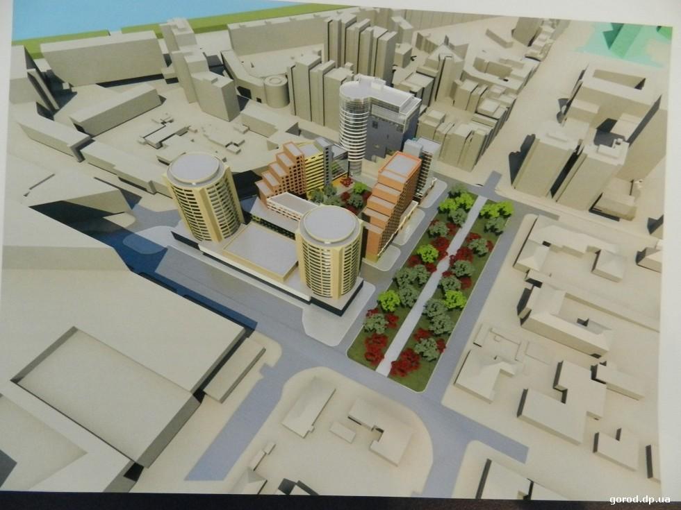 Градсовет Днепра отправил на доработку «Старую Самарь» и комплекс на Успенской площади
