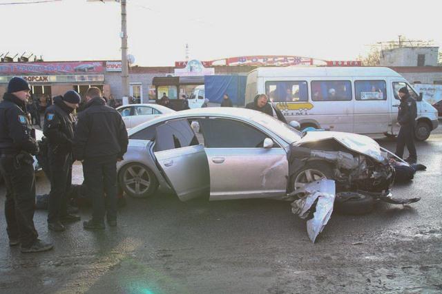 Погоня, стрельба и ДТП на Левом берегу Днепра: погиб мужчина