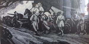 Виставка творів Петра Магра