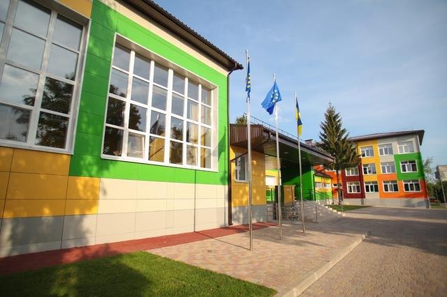 После реконструкции Солонянская опорная школа – яркая и современная
