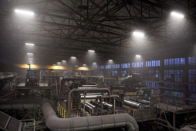 Павлоградская ЦОФ сэкономит 70% электроэнергии на освещении с помощью LED