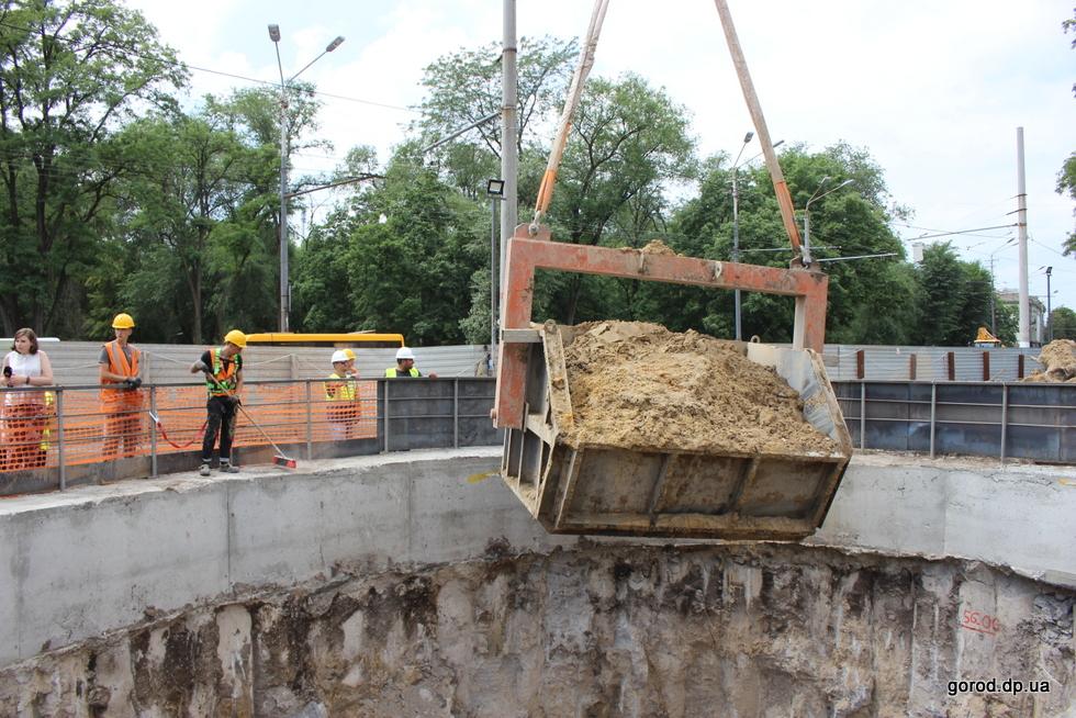 В Днепре ускоренно строят метро