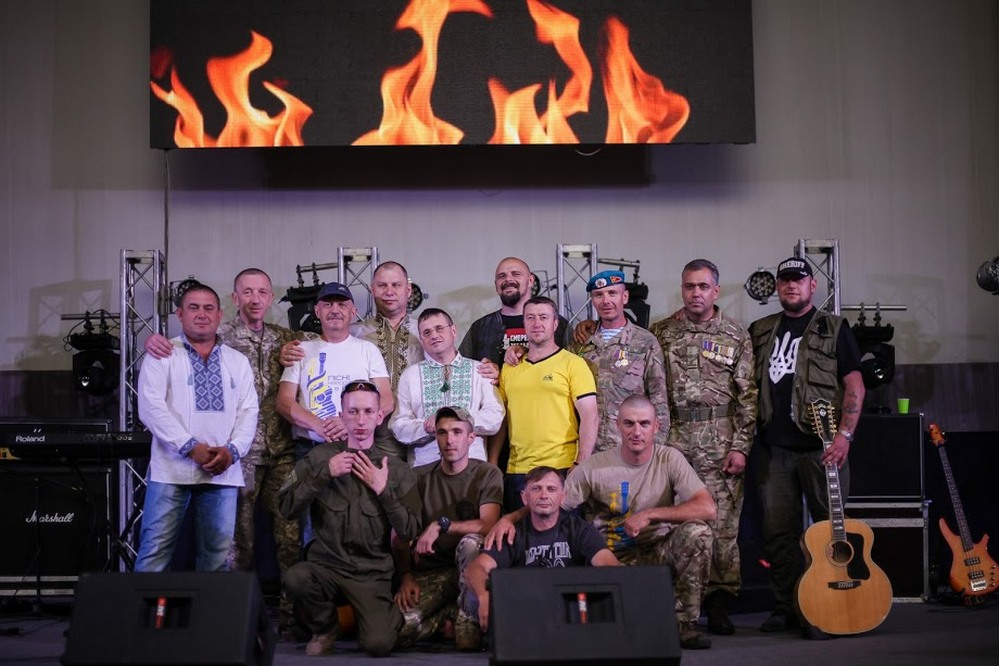 В Днепре состоялся третий всеукраинский фестиваль «Песни, рожденные в АТО»