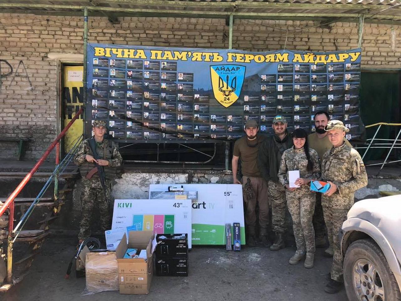 Волонтеры из Днепра передали на передовую оборудование для корректировки стрельбы