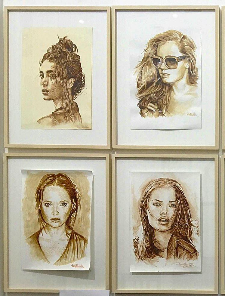 Художник из Днепра рисует вкусные портреты