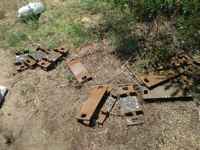 Именно из-за этой кражи произошел сход грузового поезда на станции Нижнеднепровск-Узел в Днепре
