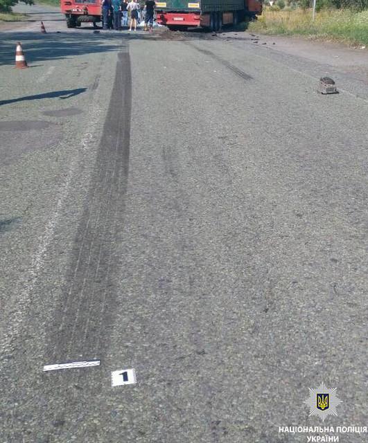Смертельное ДТП на трассе в Днепропетровской области