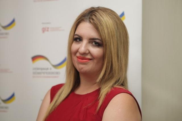Начальник управления по вопросам развития админуслуг ДнепрОГА Алена Личманенко