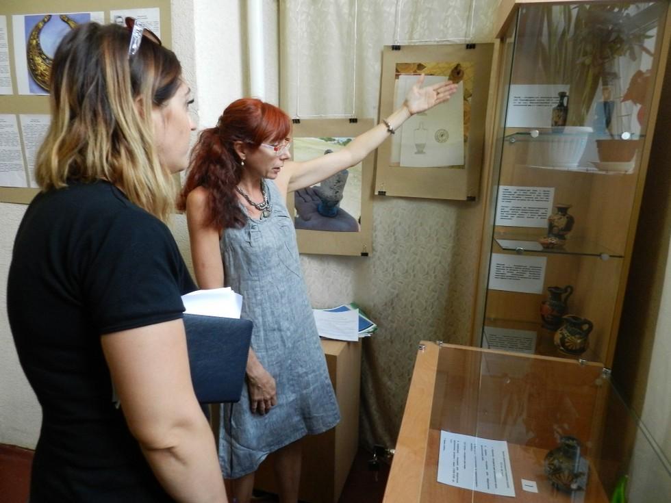 В Доме искусств Днепра открыли археологическую выставку