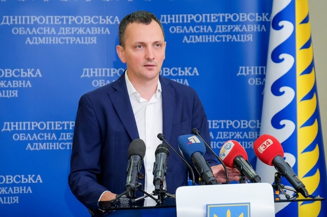 Советник председателя Днепропетровской ОГА Юрий Голик