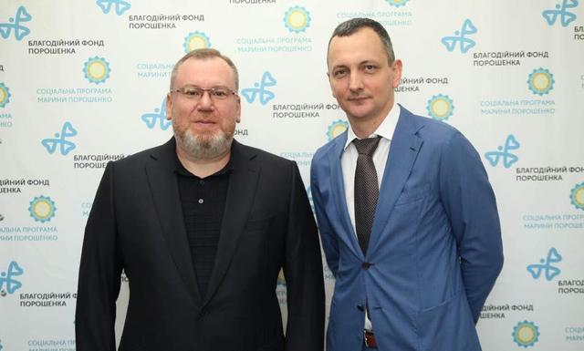 Валентин Резниченко и Юрий Голик.