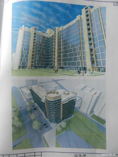 Идея высотного комплекса на бульваре Славы градсовет не прошла.