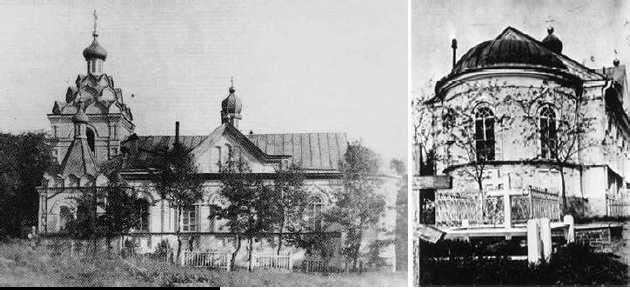 Храм-памятник после реконструкции (разрушен в годы войны).