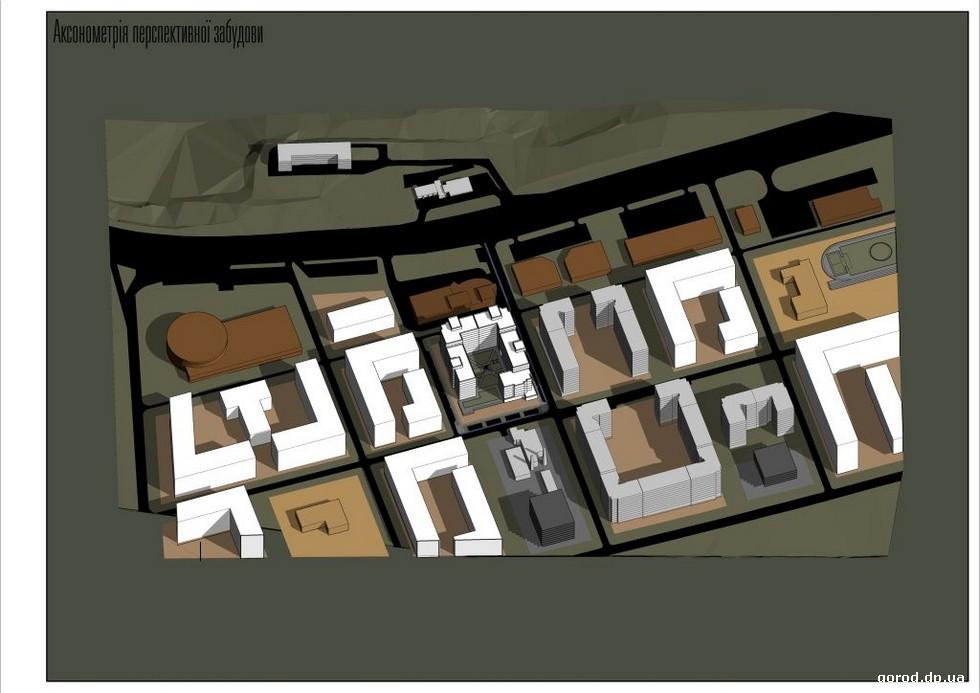 Концепция развития застройки Запорожского шоссе в районе бывшего совхоза «Цветы Днепропетровска», предложенная Игорем Саенко.  Подробности градсовета Днепра: на Игрени –  солнечная электростанция, на Запорожском шоссе – новый жилой комплекс
