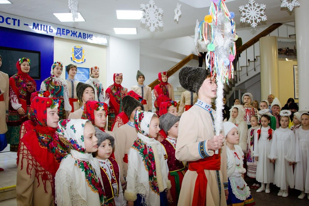 В мэрии Днепра колядовали и щедровали